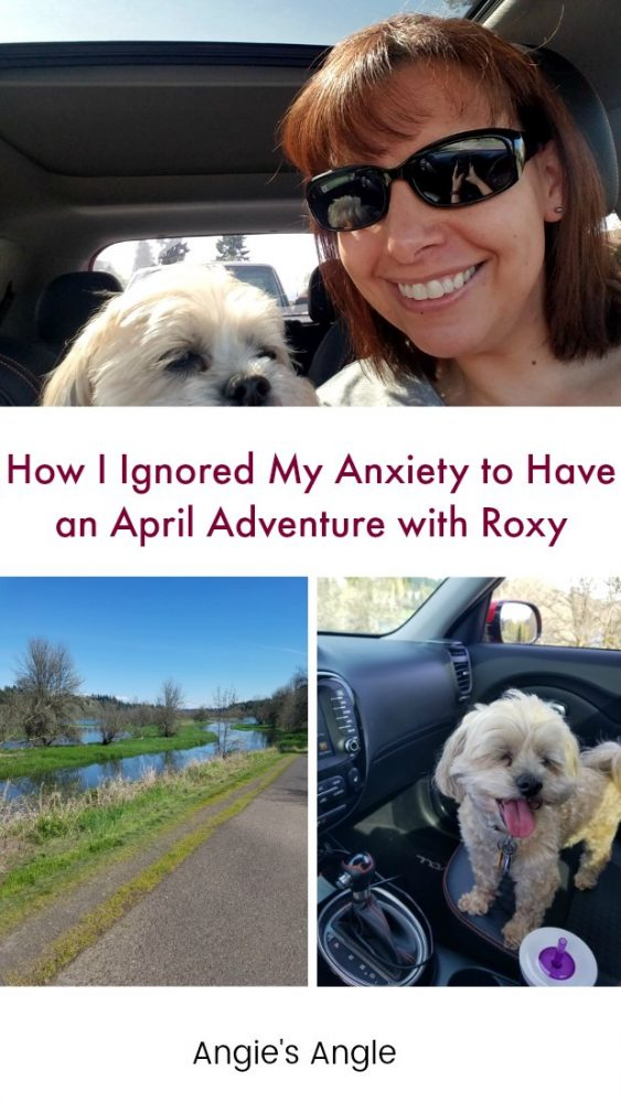 April Adventure with Roxy