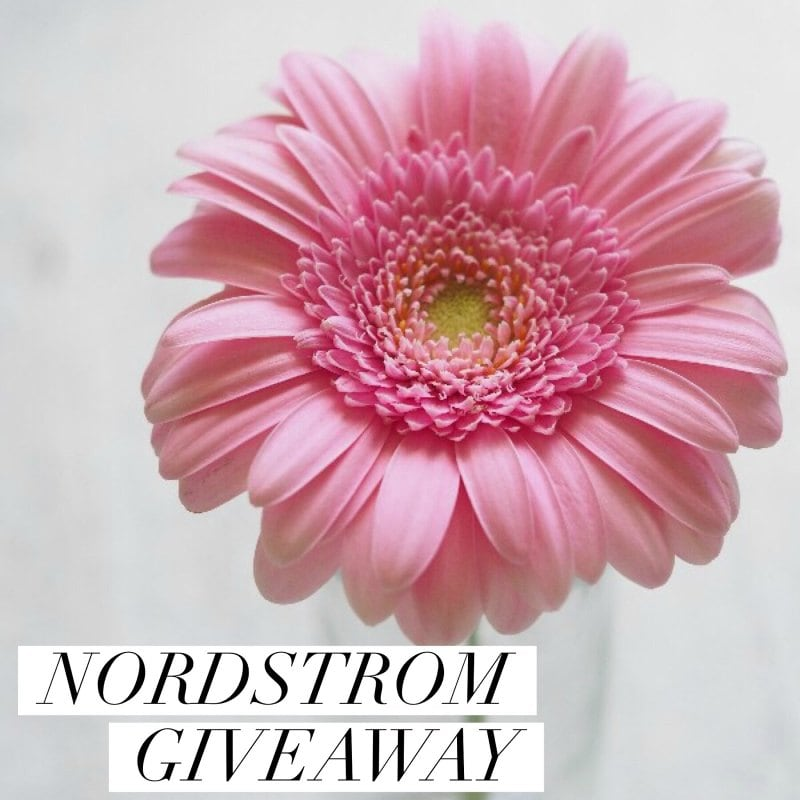 May Nordstrom Insta Giveaway
