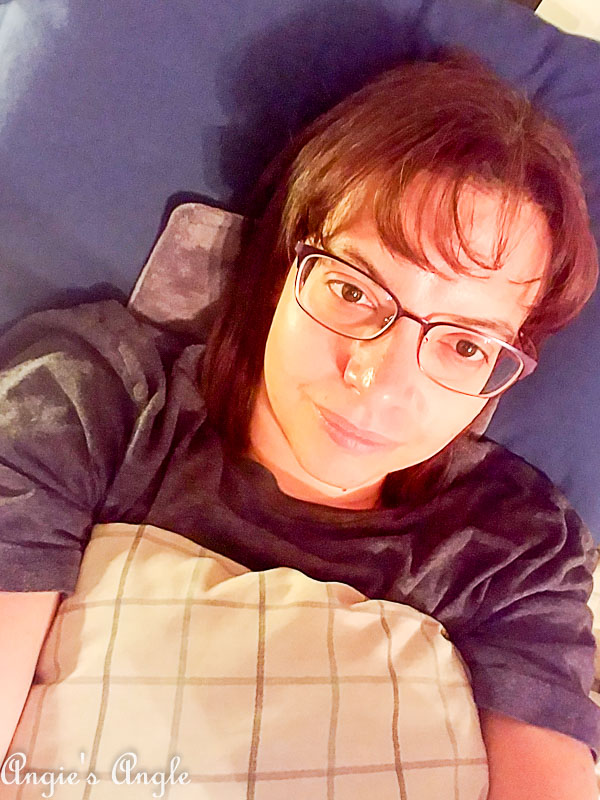 2018 Catch the Moment 365 Week 22 - Day 149 - Laying in Bed
