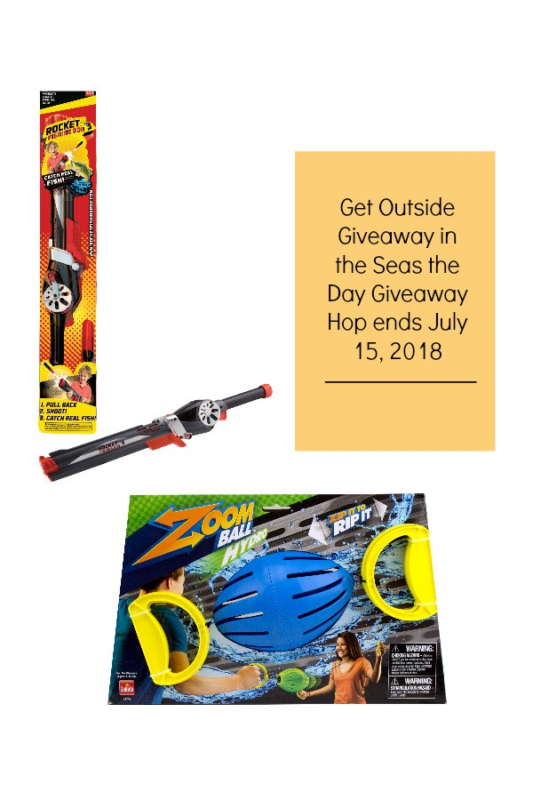 Get Outside Giveaway in the Seas the Day Giveaway Hop ends July 15, 2018