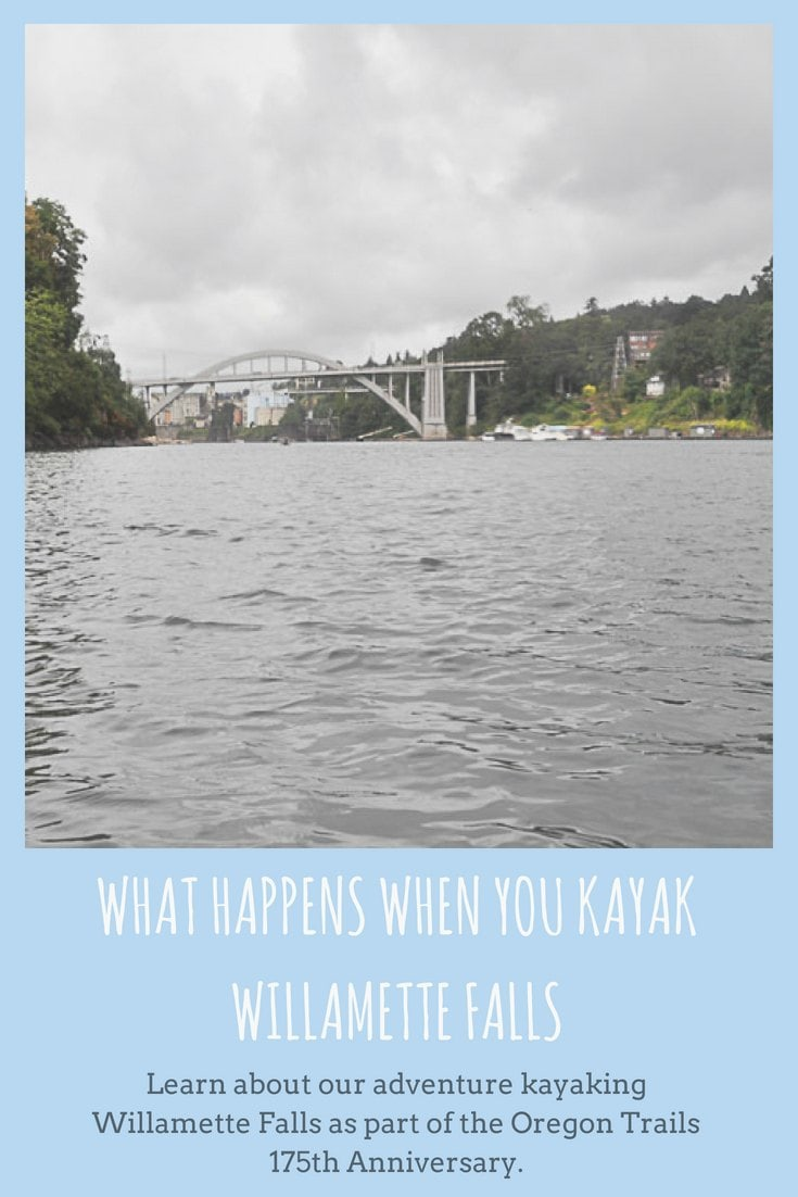 What Happens When You Kayak Willamette Falls