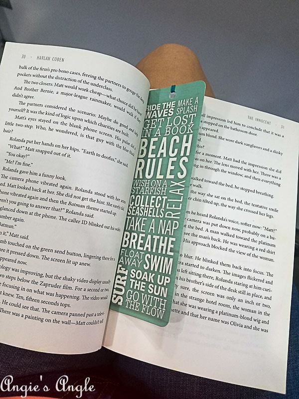 2018 Catch the Moment 365 Week 29 - Day 198 - Light Reading
