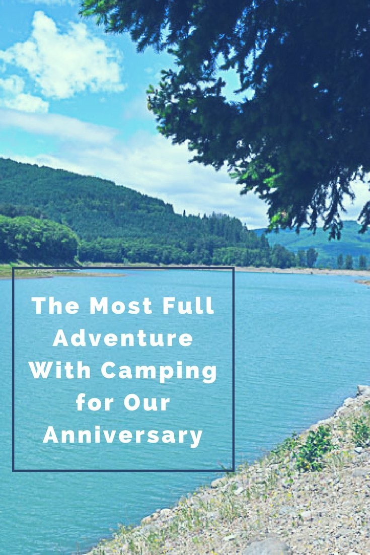 Camping for our Anniversary - Hero