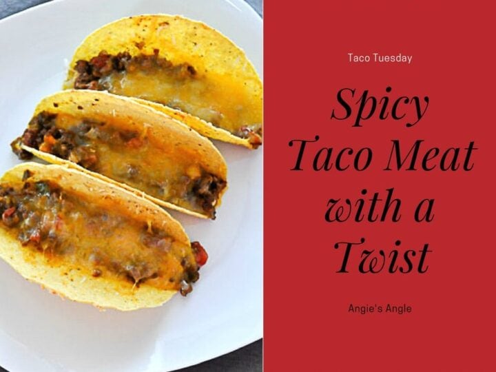 Spicy Taco Meat Twist - Social