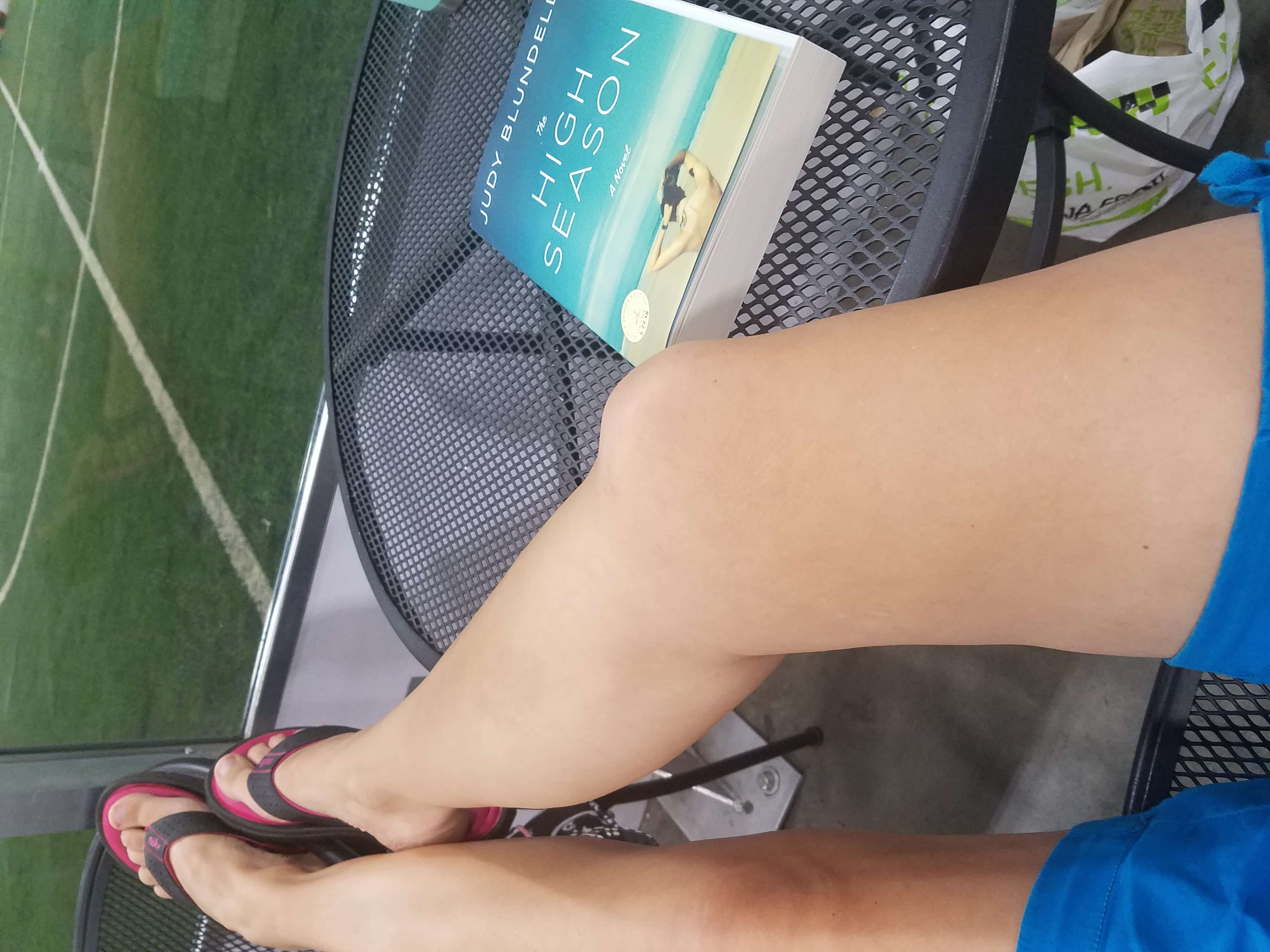 2018 Catch the Moment 365 Week 30 - Day 205 - Reading at Soccer
