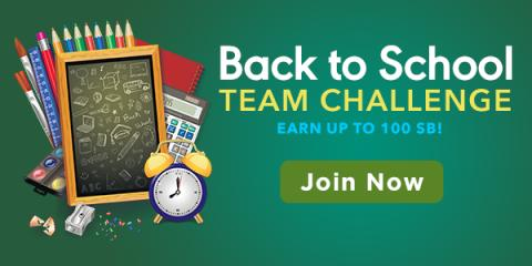 Back to School Team Challenge with Swagbucks