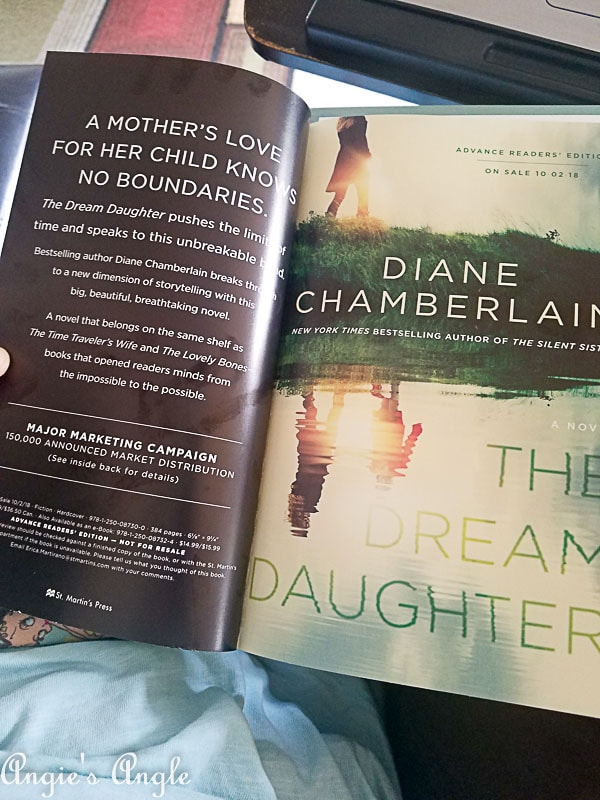 2018 Catch the Moment 365 Week 35 - Day 243 - Advanced Reader Copy Dream Daughter