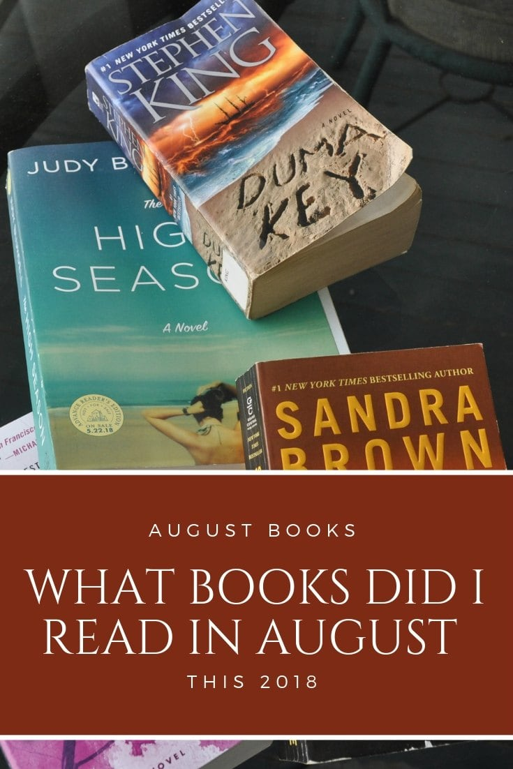 With me just wanting to read, I have a wide selection books I read in August 2018. Care to see what I picked up and devoured? Any you may need to pick up and read too? #bookworms #read #reading