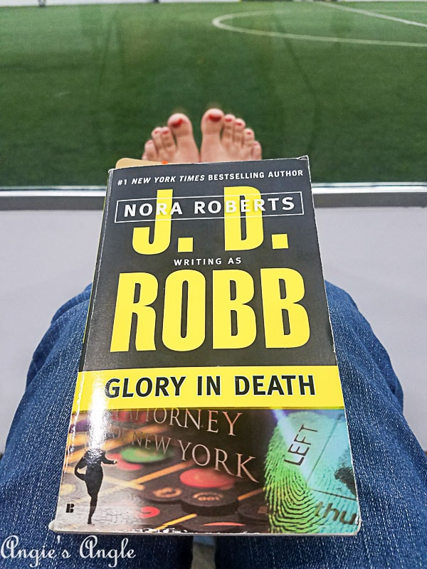 2018 Catch the Moment 365 Week 39 - Day 269 - Reading at Soccer