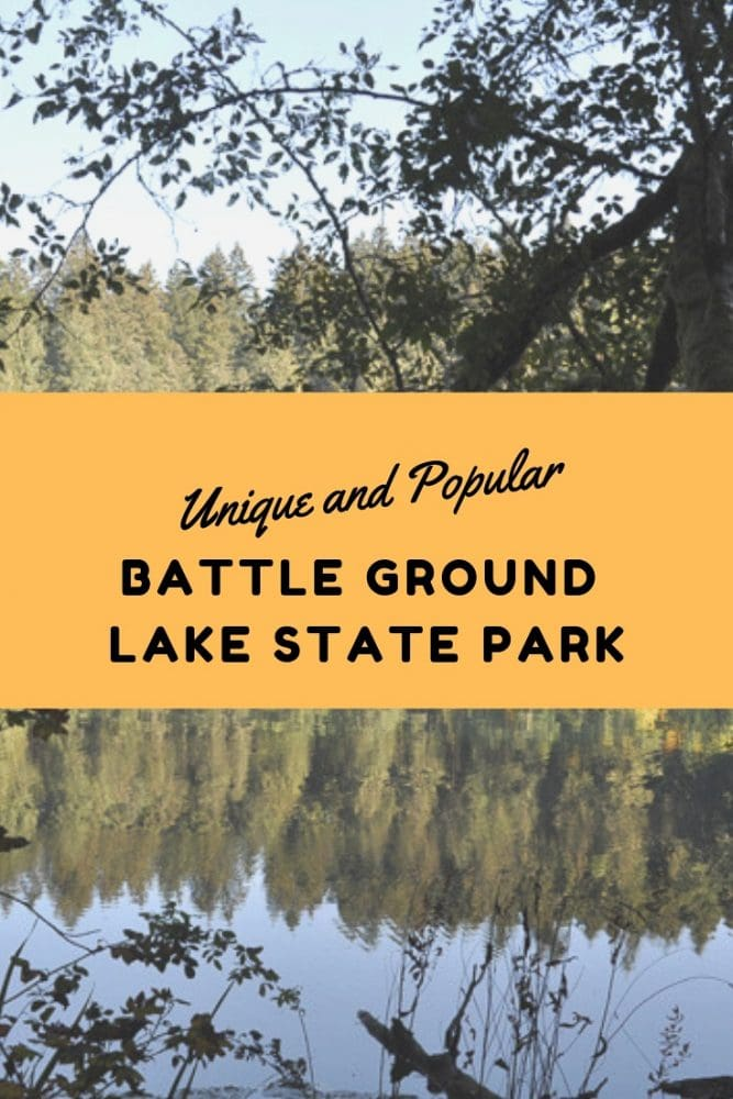 Battle Ground Lake State Park Unique - Pin