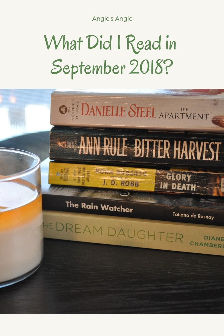 What Did I Read in September 2018?