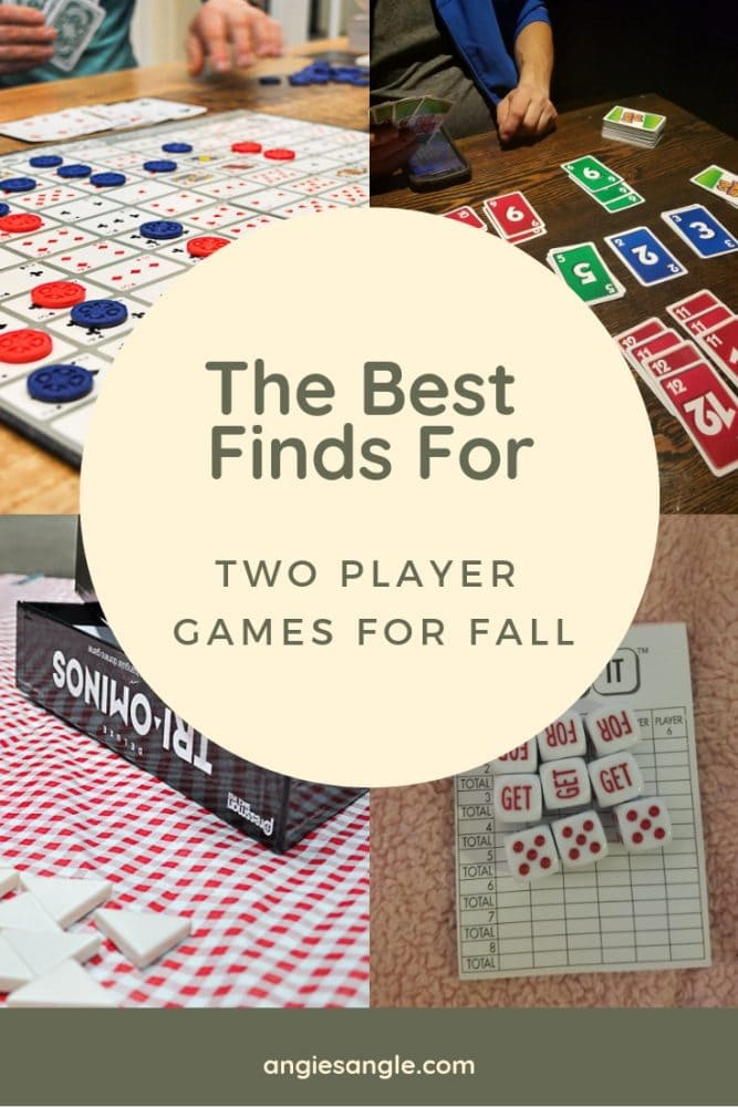 Two Player Games this Fall - Pin