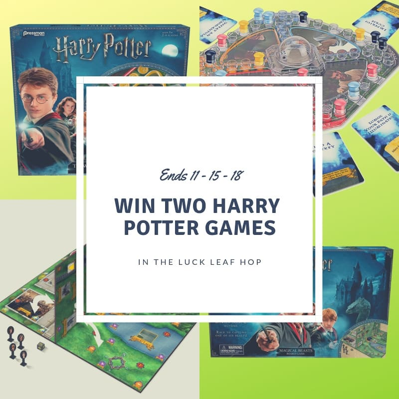 Win Two Harry Potter Games - Social