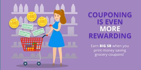 Earning Swagbucks with Coupons