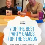 Party Games for the Season - Pin