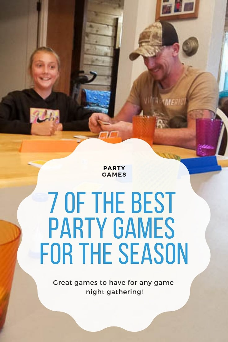 7 of the Best Party Games for the Season