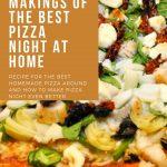 Pizza Night at Home - Pin