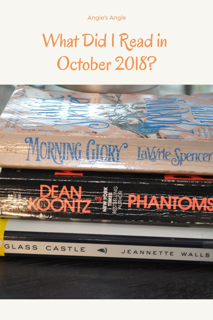 What Did I Read in October 2018?