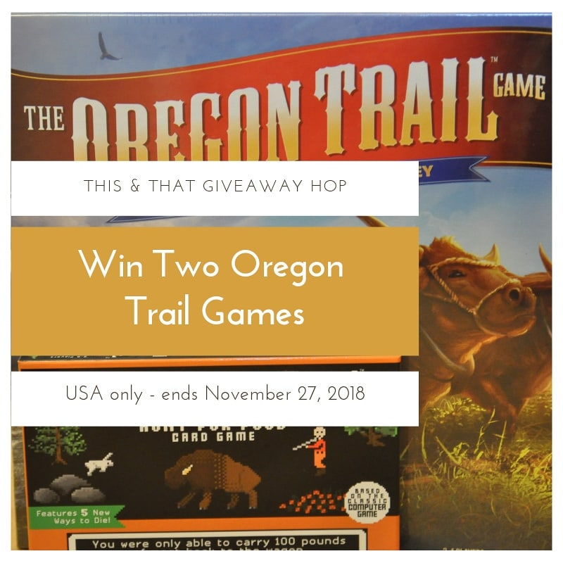Win Two Oregon Trail Games - Social