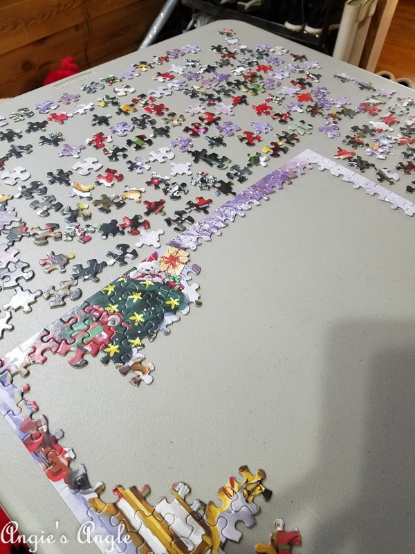 2018 Catch the Moment 365 Week 51 - Day 356 - Christmas Jigsaw Puzzle 2