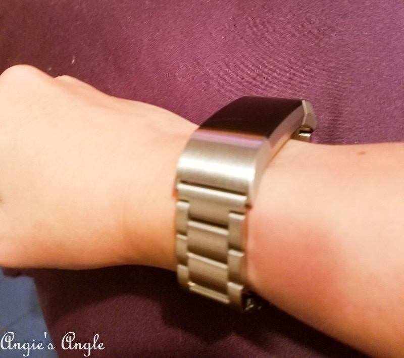 2019 Catch the Moment 365 Week 1 - Day 10 - New Band for FitBit