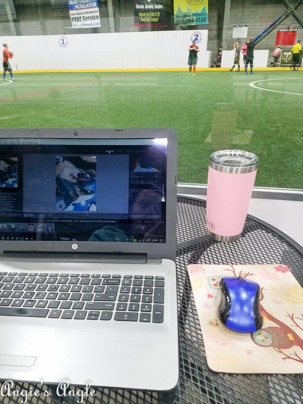 2019 Catch the Moment 365 Week 1 - Day 8 - Working at Soccer