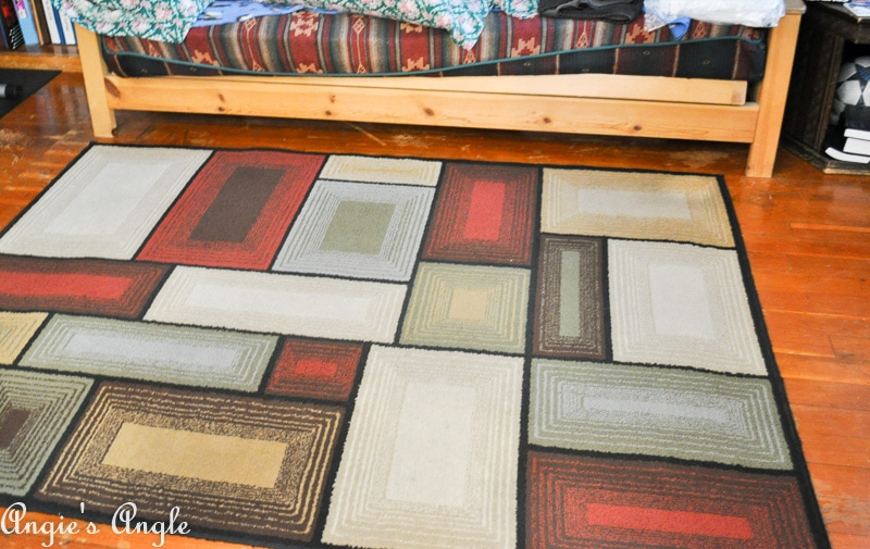 Refresh Your Space - Old Rug in Second Living Room