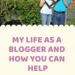 Life as a Blogger - Pin