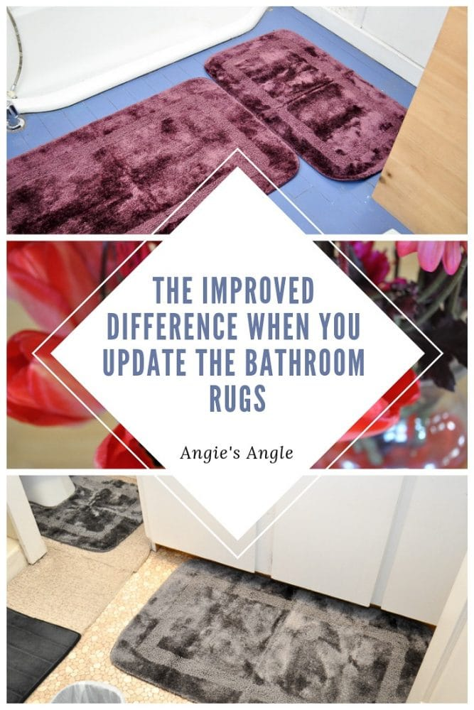 Update the Bathroom Rugs - Pin