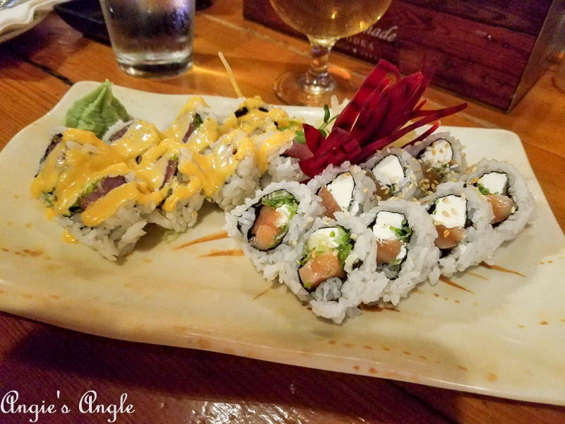 2019 Catch the Moment 365 Week 14 - Day 95 - Sushi