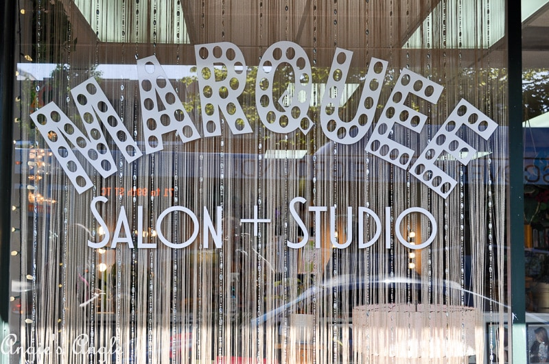 Marquee Salon and Studio Front