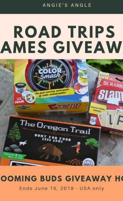 Road Trips Games Giveaway