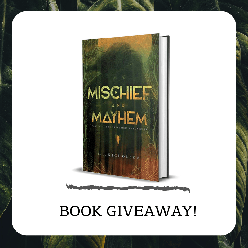 Mischief and Mayhem Book With Starbucks Giveaway