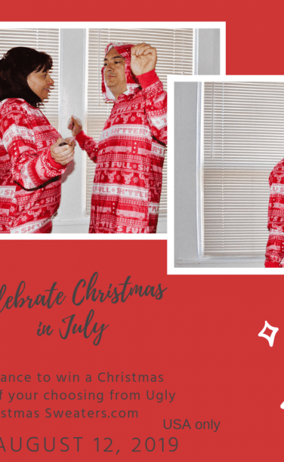 Now Get Extra Excited in a Christmas in July PJ Giveaway