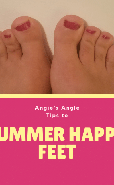 How to Get Summer Happy Feet