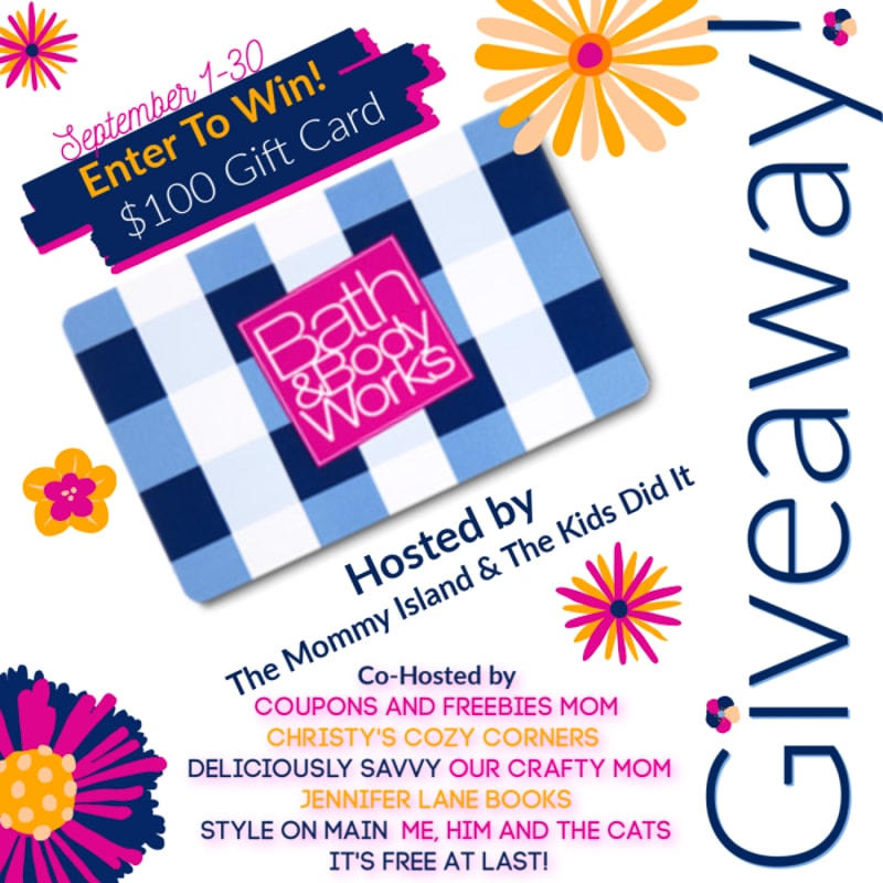 September 2019 Bath and Body Works Giveaway