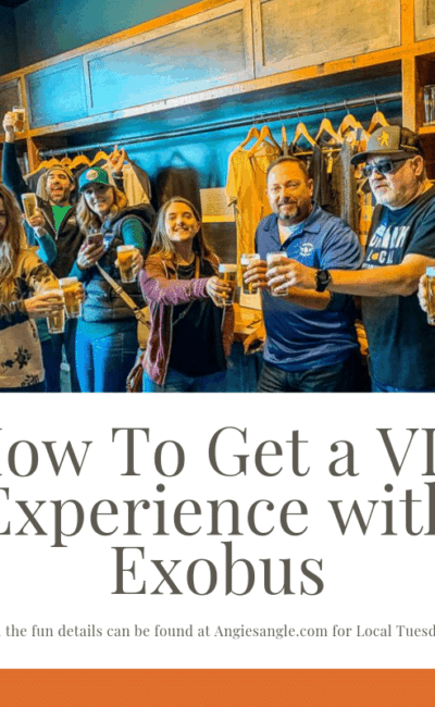 How To Get a VIP Experience with Exobus