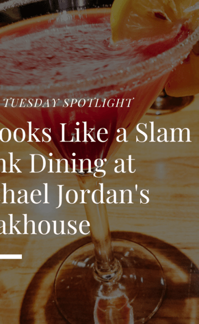 It Looks Like a Slam Dunk Dining at Michael Jordan's Steakhouse