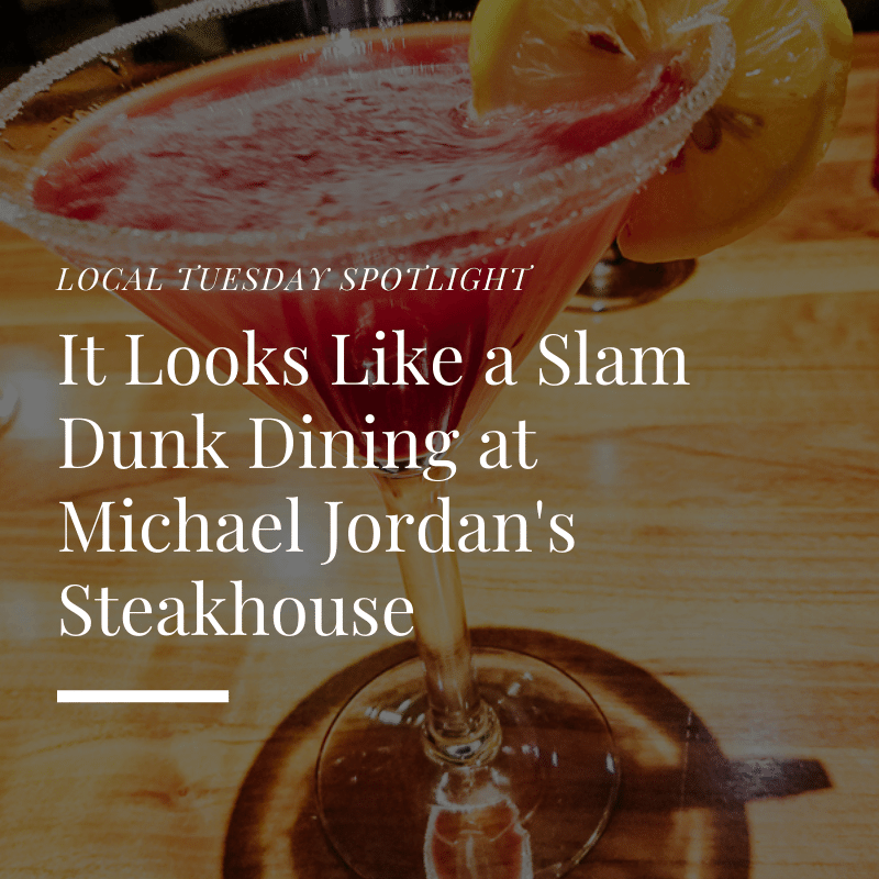 Dining at Michael Jordans Steakhouse - Featured