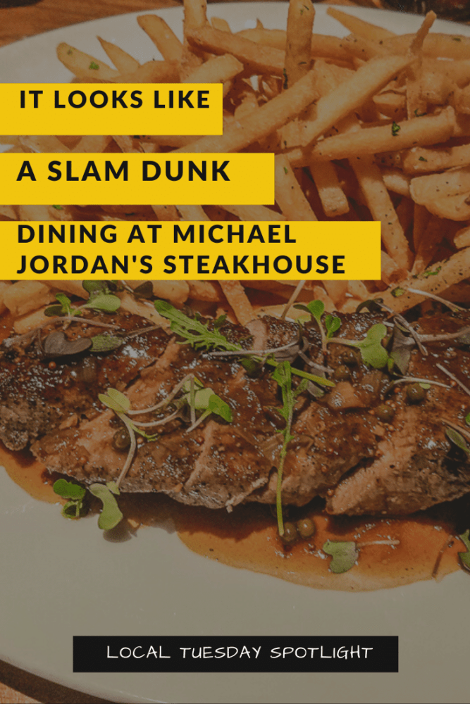 Dining at Michael Jordan's Steakhouse at Ilani is quite the experience. Today I am spotlighting them for a Local Tuesday & you'll see they're a total win! #LocalTuesday #ilani #mjsteakhouse #vanwa #pdx