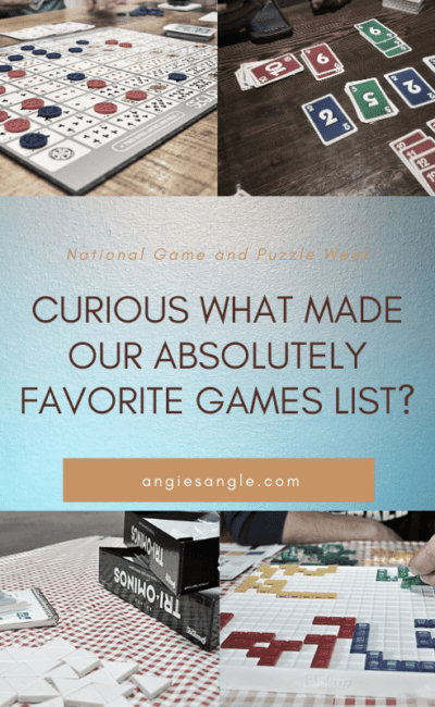 Curious What Made Our Absolutely Favorite Games List?