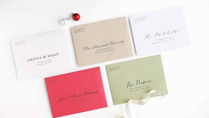 Basic Invite - Customized Envelope