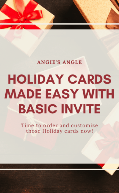 Holiday Cards Made Easy with Basic Invite