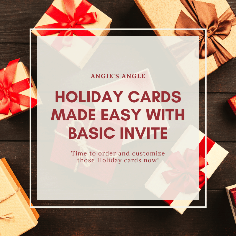 Holiday Cards Made Easy with Basic Invite - Social Featured