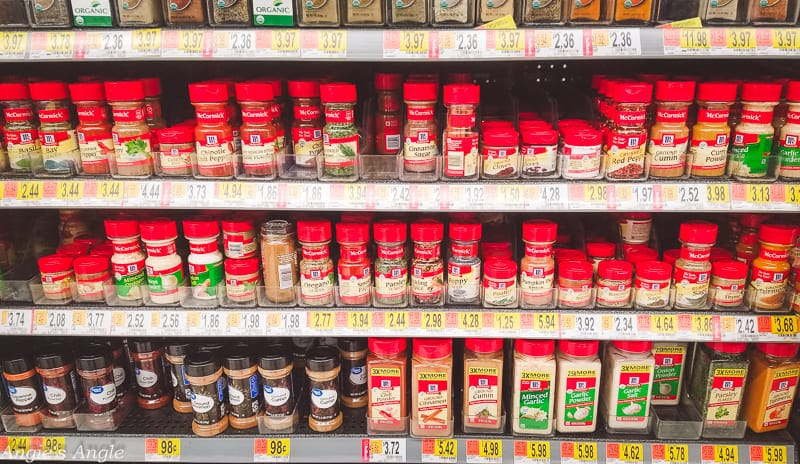 Two Simple Recipes - Walmart McCormick® Spices selection