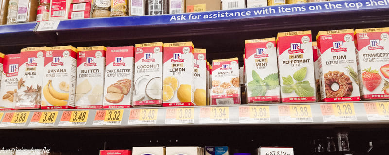 Two Simple Recipes - McCormick® Extract selections in Walmart