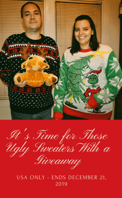 It's Time for Those Ugly Sweaters With a Giveaway