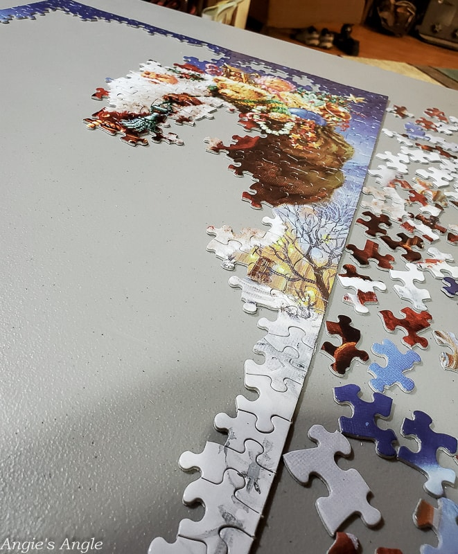 2020 Catch the Moment 366 Week 1 - Day 2 - My Turn on the Christmas Puzzle