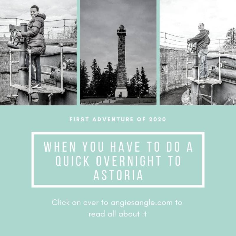 Quick Overnight to Astoria - Social
