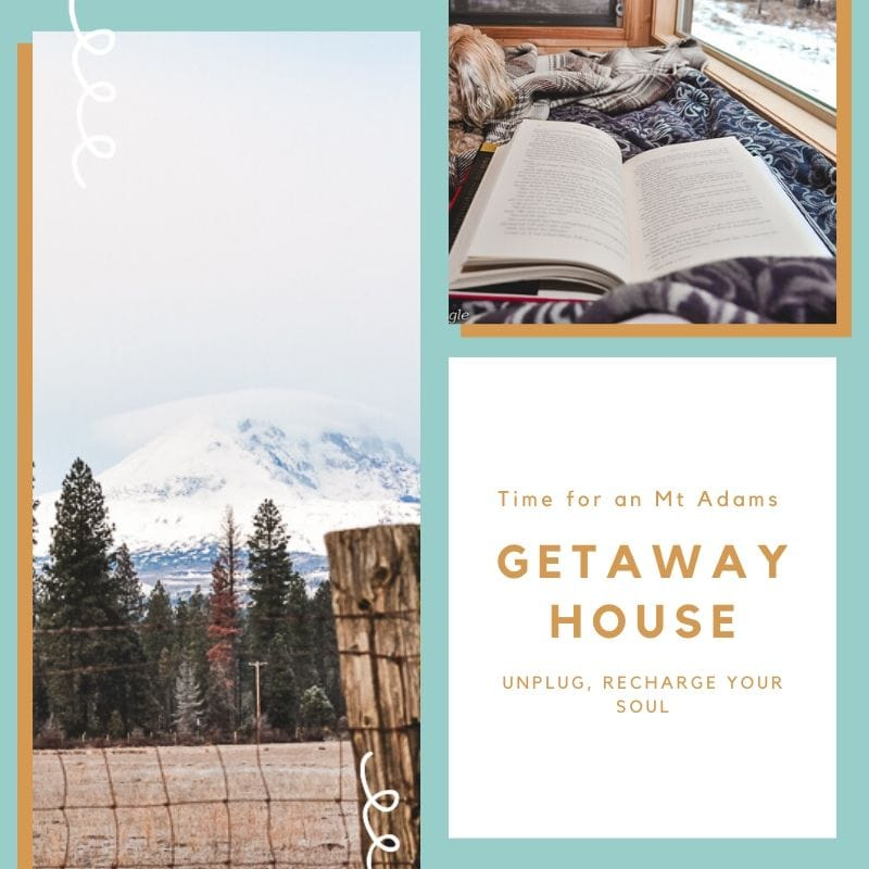 Time for an Mt Adams Getaway House - Social